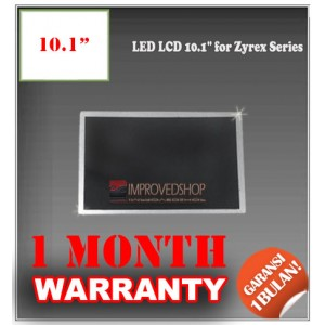 "LED LCD 10.1"" for Zyrex Series Panel Screen Notebook/Netbook/Laptop Original Parts New"