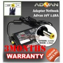 Adaptor Advan/Advance 19V 2.1A/1.58A Series (Konektor 3.5 x 1.5mm)