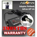 Adaptor Advan/Advance 19V 2A Series (Konektor 5.5 x 2.5mm)