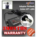 Adaptor Axioo 19V 1.58A/2.1A Series (Konektor 4.0 x 1.7mm)