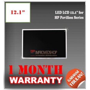 "LED LCD 12.1"" for HP Pavilion Series Panel Screen Notebook/Netbook/Laptop Original Parts New"