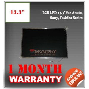 "LCD LED 13.3"" for Anote, Sony, Toshiba Series Panel Screen Notebook/Netbook/Laptop Original Parts New"