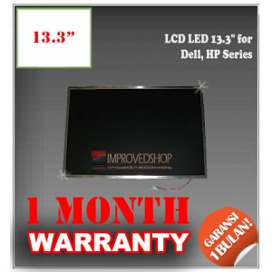 "LCD LED 13.3"" for Dell, HP Series Panel Screen Notebook/Netbook/Laptop Original Parts New"