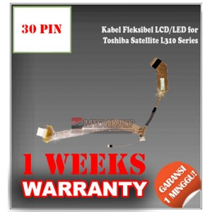 Kabel Fleksibel LCD for Toshiba Satellite L310 Series