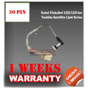 Kabel Fleksibel LCD for Toshiba Satellite L300 Series