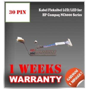 Kabel Fleksibel LCD for HP Compaq NC6000 Business Notebook Series