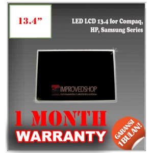 "LED LCD 13.4"" for Compaq, HP, Samsung Series Panel Screen Notebook/Netbook/Laptop Original Parts New"