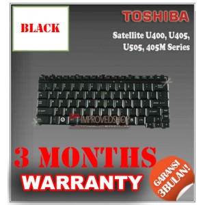 Keyboard Notebook/Netbook/Laptop Original Parts New for Toshiba Satellite U400, U405, U505, 405M Series