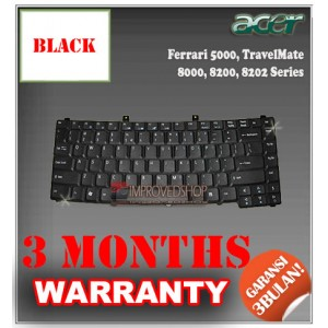 Keyboard Notebook/Netbook/Laptop Original Parts New for Acer TravelMate 8000, 8200, 8202, Ferrari 5000  Series