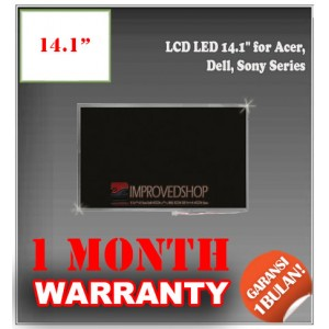 "LCD LED 14.1"" for Acer, Dell, Sony Series Panel Screen   Notebook/Netbook/Laptop Original Parts New"