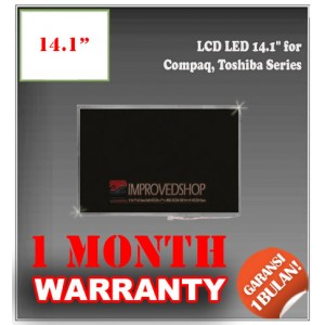 "LCD LED 14.1"" for Compaq, Toshiba Series Panel Screen Notebook/Netbook/Laptop Original Parts New"