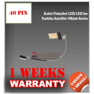 Kabel Fleksibel LCD for Toshiba Satellite NB300 Series