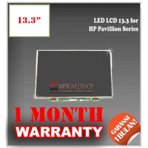 "LED LCD 13.3"" for HP Pavillion Series Panel Screen Notebook/Netbook/Laptop Original Parts New"