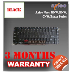 Keyboard Notebook/Netbook/Laptop Original Parts New for Axioo Neon MNW, HNW, CNW/E4121, Clevo W84 Series