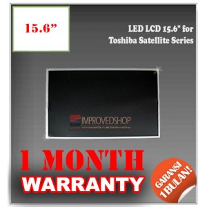 "LED LCD 15.6"" for Toshiba Satellite Series Panel Screen Notebook/Laptop Original Parts New"
