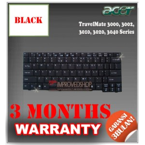 Keyboard Notebook/Netbook/Laptop Original Parts New for Acer Travelmate 3000, 3002, 3010, 3020, 3040 Series