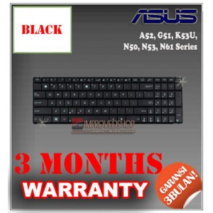 Keyboard Notebook/Netbook/Laptop Original Parts New for Asus A52, G51, K53U, N50, N53, N61 Series