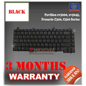 Keyboard Notebook/Netbook/Laptop Original Parts New for HP-Compaq Pavilion zv5000, zv5045, Presario C300, C500 Series