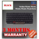 Keyboard Notebook/Netbook/Laptop Original Parts New for HP-Compaq Pavilion TX1000, TX1100, TX1200, TX1300, TX1400 Series