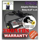 5. Adaptor Benq 19.5V 2.1A Series (Konektor 5.5 x 2.5mm)