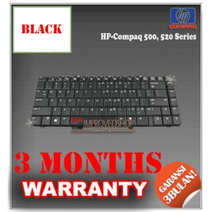 Keyboard Notebook/Netbook/Laptop Original Parts New for HP-Compaq 500, 520 Series