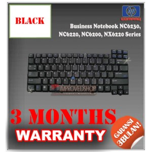 Keyboard Notebook/Netbook/Laptop Original Parts New for Compaq Business Notebook NC6230, NC6220, NC6200, NX6220 Series
