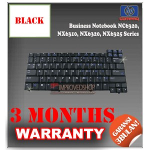 Keyboard Notebook/Netbook/Laptop Original Parts New for Compaq Business Notebook NC6320, NX6310, NX6320, NX6325 Series