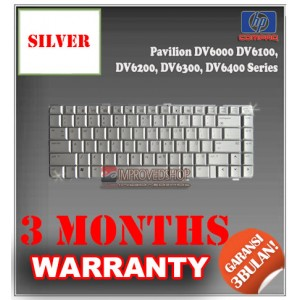 Keyboard Notebook/Netbook/Laptop Original Parts New for HP Pavilion DV6000 DV6100, DV6200, DV6300, DV6400 Series