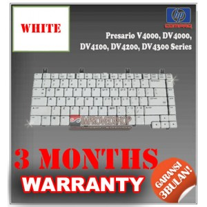 Keyboard Notebook/Netbook/Laptop Original Parts New for Compaq Presario V4000, DV4000, DV4100, DV4200, DV4300 Series