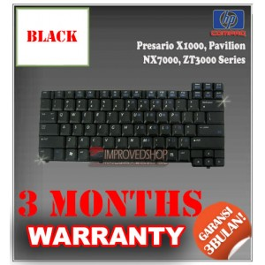 Keyboard Notebook/Netbook/Laptop Original Parts New for HP-Compaq Presario X1000, Pavilion NX7000, ZT3000 Series