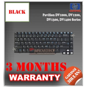 Keyboard Notebook/Netbook/Laptop Original Parts New for HP-Compaq Pavilion DV1000, DV1200, DV1300, DV1400 Series