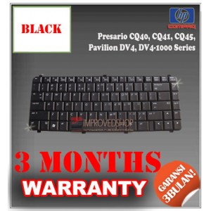 Keyboard Notebook/Netbook/Laptop Original Parts New for HP-Compaq Presario CQ40, CQ41, CQ45, Pavilion DV4, DV4-1000 Series
