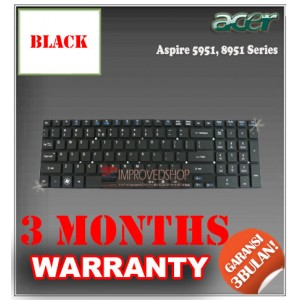 Keyboard Notebook/Netbook/Laptop Original Parts New for Acer Aspire 5951, 8951 Series