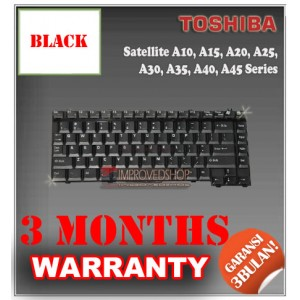 Keyboard Notebook/Netbook/Laptop Original Parts New for Toshiba Satellite A10, A15, A20, A25, A30, A35, A40, A45 Series