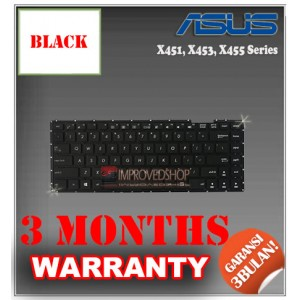 Keyboard Notebook/Netbook/Laptop Original Parts New for Asus X451, X453, X455 Series