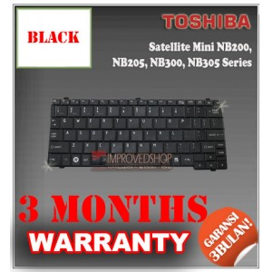Keyboard Notebook/Netbook/Laptop Original Parts New for Toshiba Satellite Mini NB200, NB205, NB300, NB305 Series
