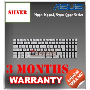 Keyboard Notebook/Netbook/Laptop Original Parts New for Asus N550, N550J, N750, Q550 Series