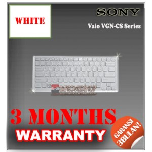 Keyboard Notebook/Netbook/Laptop Original Parts New for Sony Vaio VGN-CS Series With Cashing