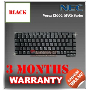 Keyboard Notebook/Netbook/Laptop Original Parts New for NEC Versa E6000, M350 Series