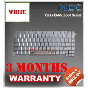 Keyboard Notebook/Netbook/Laptop Original Parts New for NEC Versa E600, E660 Series