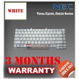 Keyboard Notebook/Netbook/Laptop Original Parts New for NEC Versa E3100, E6210 Series