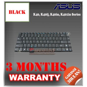 Keyboard Notebook/Netbook/Laptop Original Parts New for Asus K40, K40ij, K40in, K401in Series