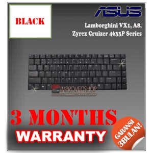 Keyboard Notebook/Netbook/Laptop Original Parts New for Asus Lamborghini VX1, A8, Zyrex Cruizer 4633P Series