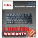 Keyboard Notebook/Netbook/Laptop Original Parts New for MSI Megabook S420, VR320, Boldline MS1011 Series