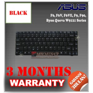 Keyboard Notebook/Netbook/Laptop Original Parts New for Asus F6, F6V, F6VE, F9, F90, Byon Queva W9121 Series