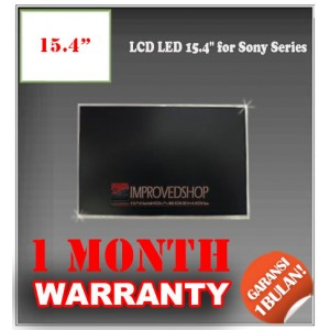 "LCD LED 15.4"" for Sony Series Panel Screen Notebook/Netbook/Laptop Original Parts New"