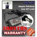 Adaptor ASUS 19V 3.16A Series (Konektor 5.5 x 2.5mm)