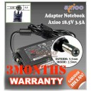 1.1 Adaptor Axioo 18.5V 3.5A Series (Konektor 5.5 x 2.5mm)