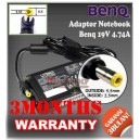 Adaptor Benq 19V 4.74A Series (Konektor 5.5 x 2.5mm)