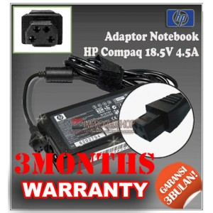1.4.1 Adaptor HP-COMPAQ 18.5V 4.5A Series (Konektor 4 Pin)